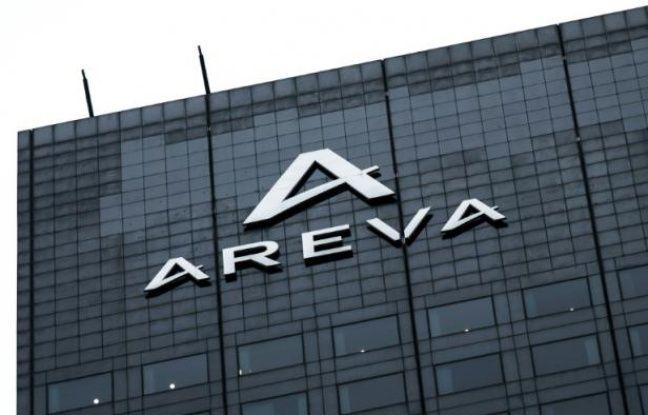 Le siège social du groupe français Areva, à La Défense, près de Paris, le 19 mai 2016