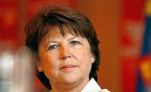 Martine Aubry en 2014.