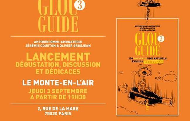 Visuel officiel de la soirée de lancement du Glou Guide 3