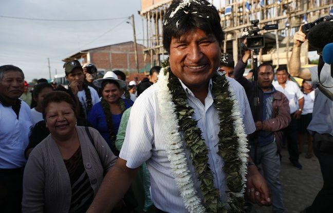 Bolivie: Evo Morales en tête, mais contraint à un second tour inédit