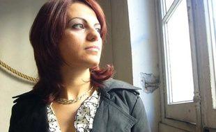 "Sihem Souid qui a écrit ""Omerta dans la police"", en octobre 2010."