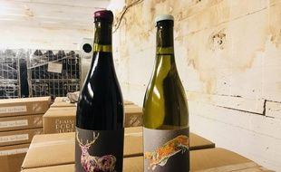 Les Chais du Port de la Lune produisent quatre vins dans le blockhaus.