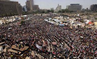 Manifestants place Tahrir au Caire le 30 juin 2013.