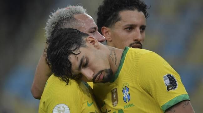 """OL-Troyes : « Le fameux """"joga bonito"""" est terminé »... Neymar fustige le carton infligé à son pote Lucas Paqueta"""