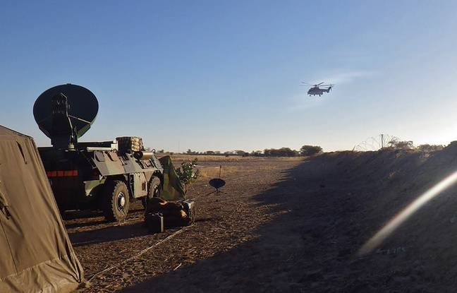 Des militaires du 41e RT en poste au Sahel pour l'opération Barkhane.