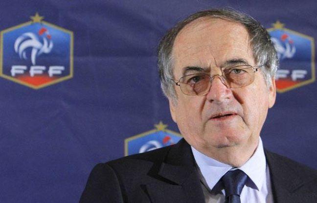 Noël Le Graet, président de la Fédération française de football.