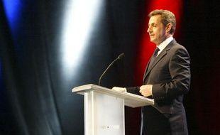 Meeting de Nicolas SARKOZY à Annecy, le 17 février 2012
