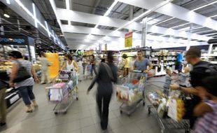 La consommation des ménages a augmenté en France en janvier de 0,6%