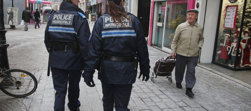 Illustration de la police municipale de Lille.