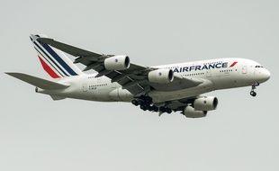 Un avion de la compagnie Air France-KLM.
