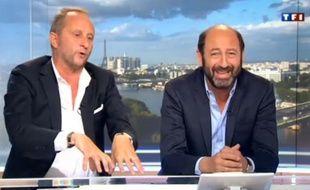 Benoît Poelvoorde et Kad Merad dimanche 30 juin 2013sur TF1.