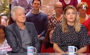 La blague de Dave à Louane a provoqué un malaise sur le plateau des Enfants de la télé.