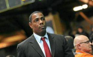 Jim Bilba, assistant coach de l'équipe de basket de Cholet.