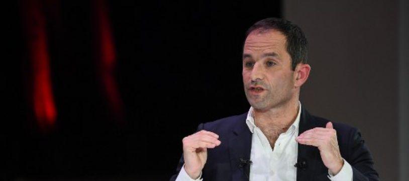 Benoît Hamon, tête de liste du parti Générations.