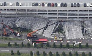 Le typhon a fait de nombreux ravages