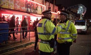 Des policiers à Manchester (illustration).