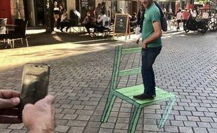 Illusion d'optique à Nantes
