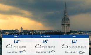 Météo Caen: Prévisions du dimanche 9 juin 2019