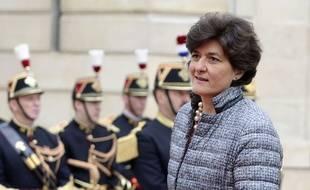 Sylvie Goulard à son arrivée à l'Elysée, le 14 mai 2017.
