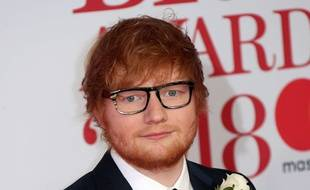 Ed Sheeran le 21 février 2018 aux BRIT Awards 2018.
