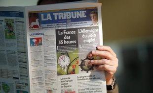 Le journal La Tribune le 5 janvier 2011.