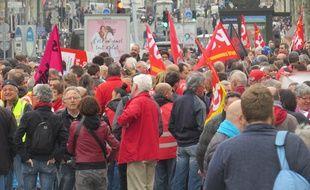 Marseille Le 05 AVRIL 2016 Nouvelle manifestation contre le projet de loi travail