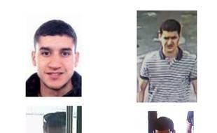 Des photos de Younès Abouyaaqoub, suspect numéro 1 des attentats de Catalogne, diffusées sur Twitter.