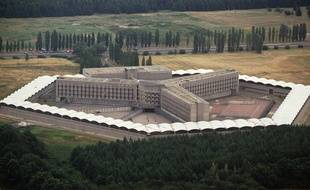 Vue aérienne de la prison de Fleury-Mérogis