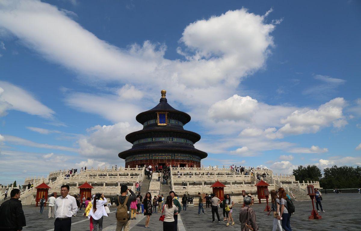 Le Temple du Ciel à Pékin (Chine).  – CHINE NOUVELLE/SIPA