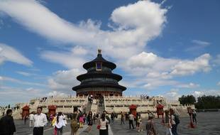 Le Temple du Ciel à Pékin (Chine).