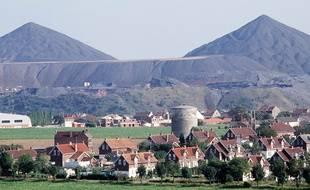 Illustration d'un paysage de l'ancien bassin minier du Nord-Pas-de-Calais.