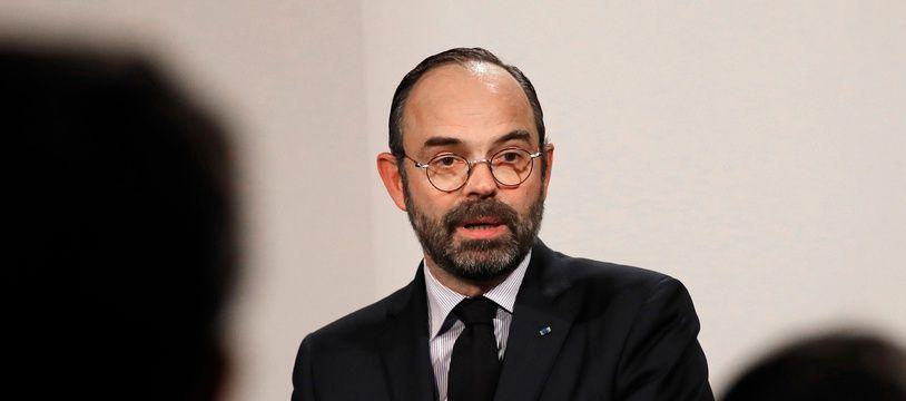 Edouard Philippe, le 9 janvier 2019 lors d'une conférence de presse.