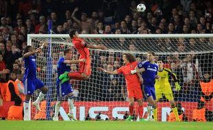 Thiago Silva s'élève pour marquer face à Chelsea -Andrew Fosker/SIPA