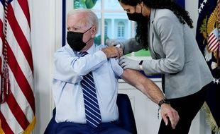Joe Biden a reçu une troisième dose de vaccin anti-Covid le 27 septembre 2021 à la Maison Blanche.
