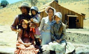 Les héros de la série télévisée «La petite maison dans la prairie».