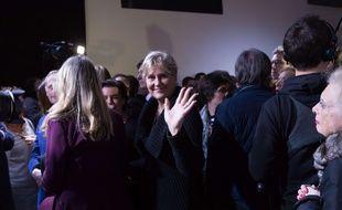 Nadine Morano au soir de la victoire de Laurent Wauquiez à la présidence des Républicains, le 10 décembre 2017.