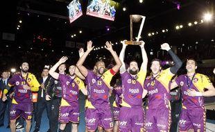 Le HBC Nantes a enfin remporté un titre.