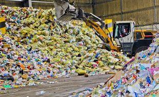 Des déchets ménagers. (Photo illustration)
