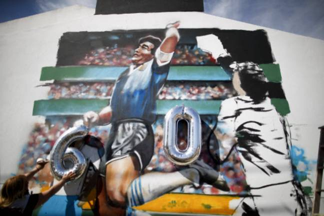 Diego Maradona, 60 ans et une main pour l'histoire.