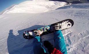 Alexandru Radu  était parti pour une jolie session de snowboard ce jour-là.