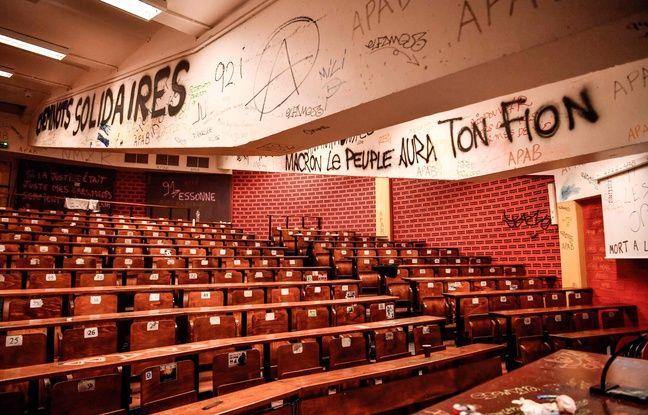 Blocage des universités: Des dégâts estimés à plus d'un million d'euros, pour Frédéric Vidal