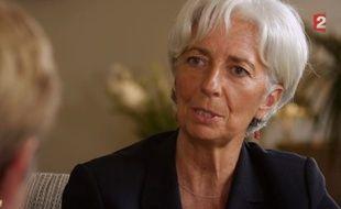 Christine Lagarde sur France 2 le 13 septembre 2015.