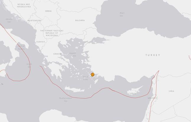 L'épicentre du séisme du 21 juillet 2017 se trouve 10 kilomètres au sud-est de la ville côtière de Bodrum en Turquie.