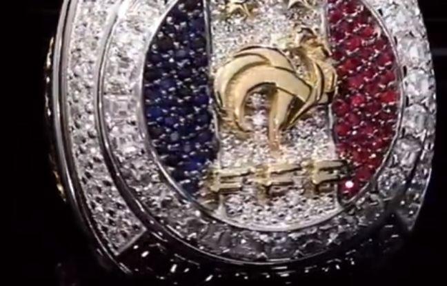 Equipe de France: Les Bleus ont reçu leur bague de champion du monde (payée par Paul Pogba)