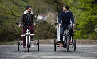 VUF Bikes propose toute une gamme de triporteurs pour les professionnels.