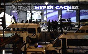 La prise d'otage le 9 janvier 2014 à Vincennes devant une épicerie casher.
