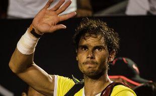 L'Espagnol Rafael Nadal à Rio, le 21 février 2016.