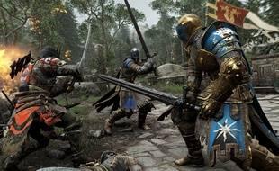 «For Honor», d'Ubisoft, a été présenté au salon de l'E3 2015.