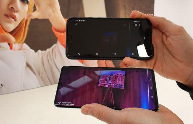 Au-dessus du Huawei P30, le Pixel 3 de Google ne tient pas le choc pour les photos en basse lumière.