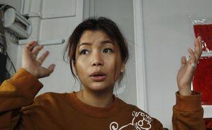 L'actrice cambodgienne SaSa, victime d'une agression le 2 juillet 2015, a décidé de partager les images de l'incident sur la toile
